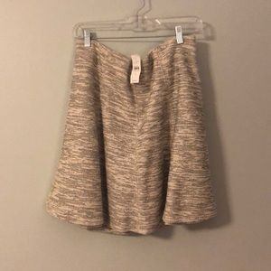 NWT Loft Tweed Flippy Skirt